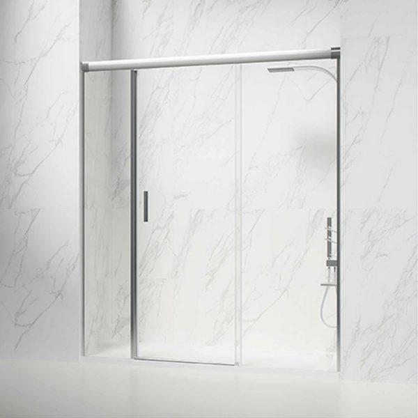 Frontal ducha 1 hoja con fijos laterales.