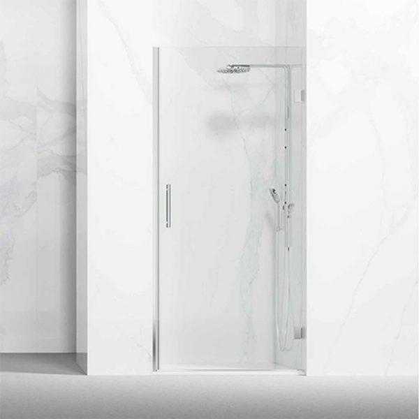Frontal ducha / bañero formado por 1 hoja abatible con bisagras